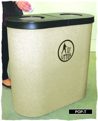 Popular Twin Litter Bin