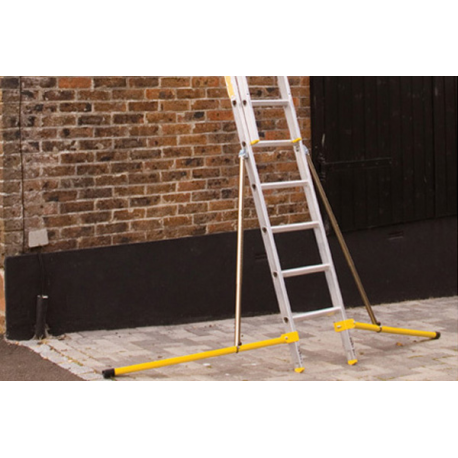 HUNTER LADDER HL225 2 SECTION 2.5 METRE LADDER
