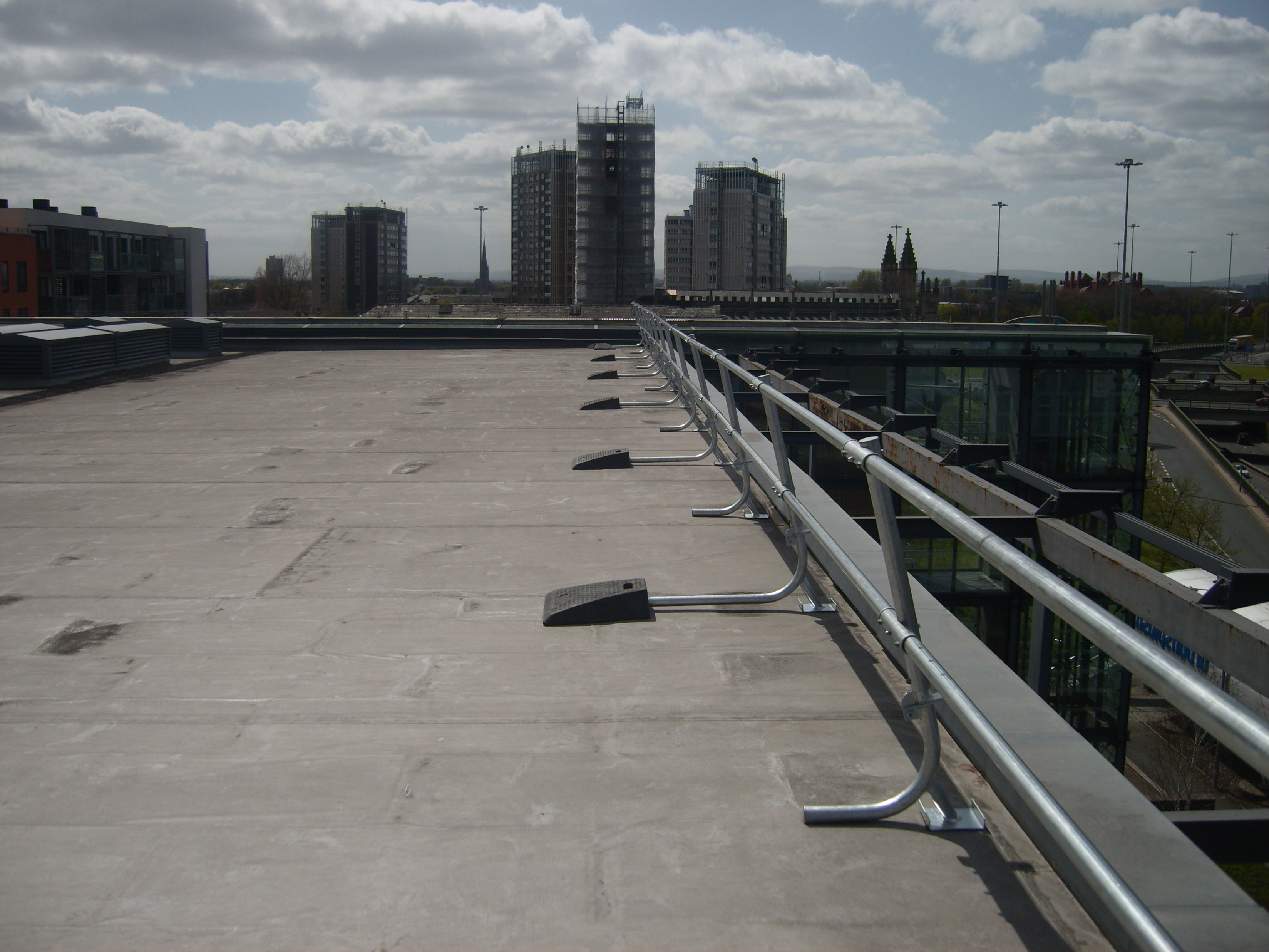Roof Safety Handrails & Guardrails