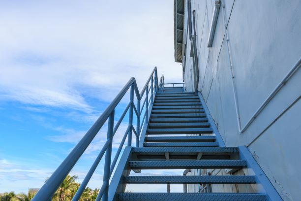 Fire Escape Staircases and Safety Stairs