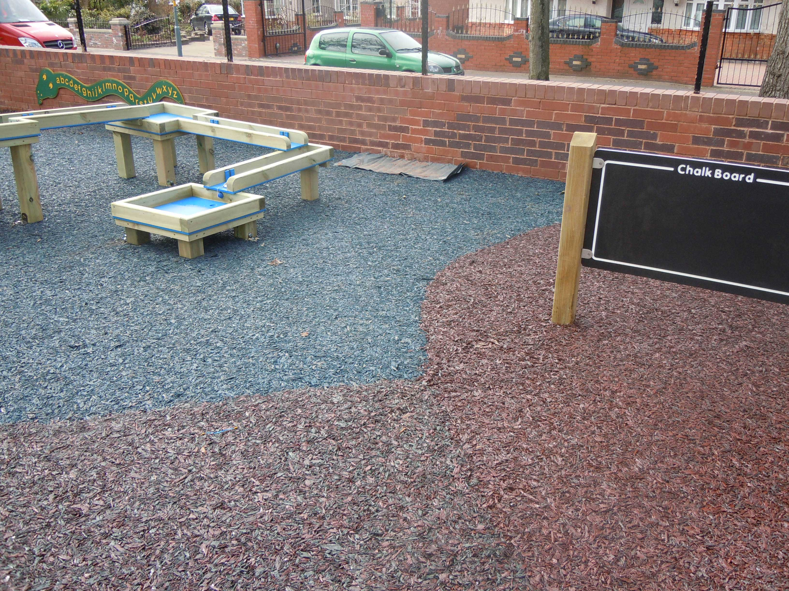 Bonded Rubber Mulch Safety Surfacing