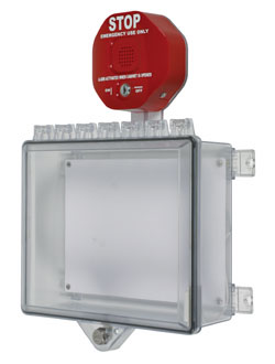 Alarmed Polycarbonate Enclosures