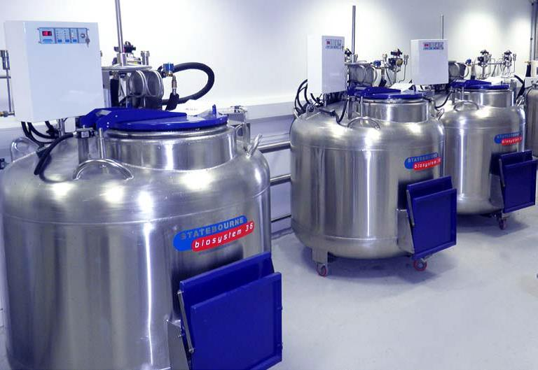Statebourne Liquid Nitrogen Freezers