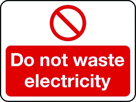 Energy Conservation / Recycling Signs