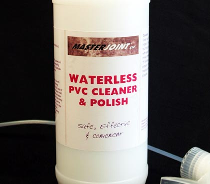 Waterless PVC Cleaner and Polish