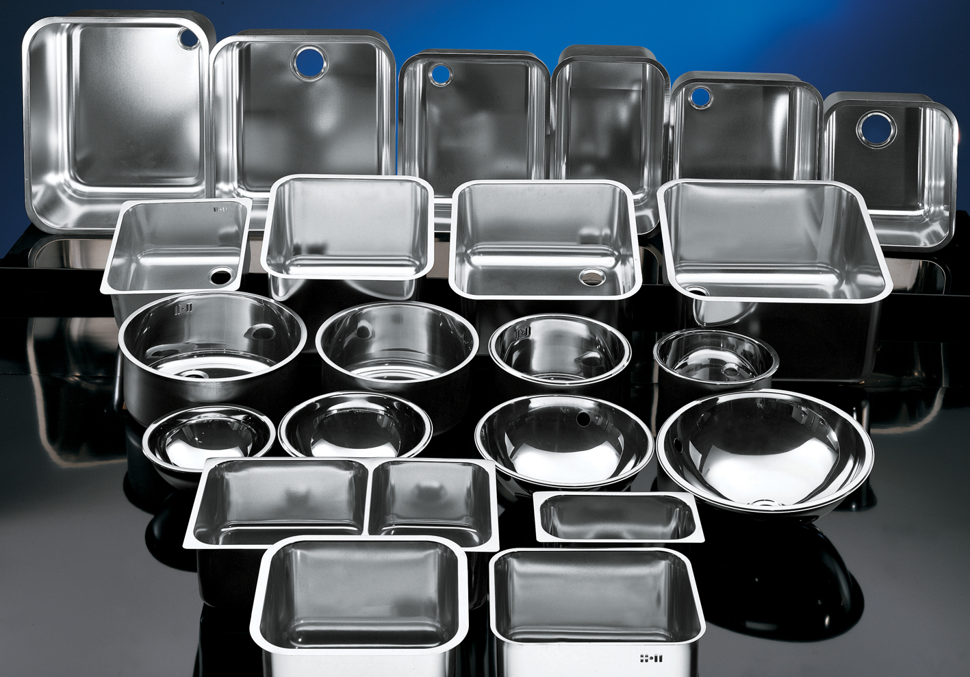 Sinks  stainless steel