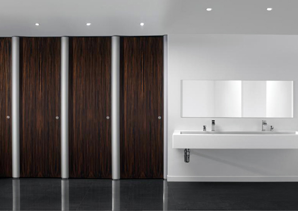 Aero Pearl™ Stylish toilet cubicle