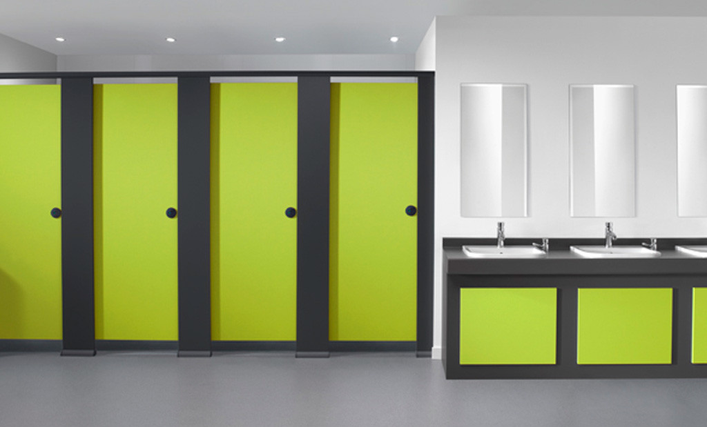 Quadro™ Toilet cubicle system