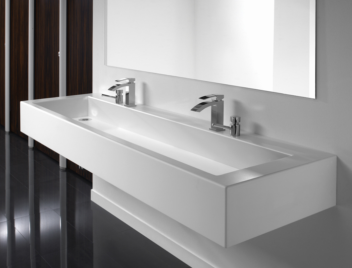 Solid Surface Washtrough