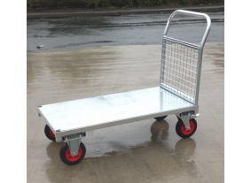 Galvanised Platform Trucks