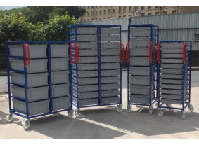 Plastic Box Trolleys
