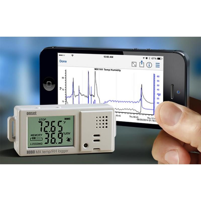 Gas Pressure Data Logger : Measurement control of temperature pressure voltage