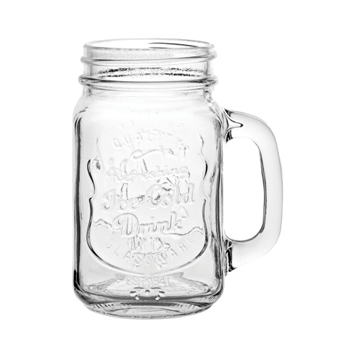 Utopia Handled Alabama Drinking Jar 48.0cl