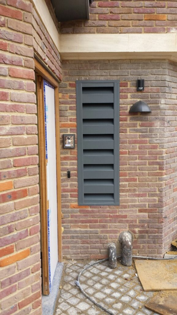 Acoustic Louvres for Heating, Ventilation and Air Conditioning Noise Solutions