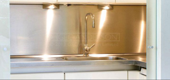 Steel Splashbacks & Panels