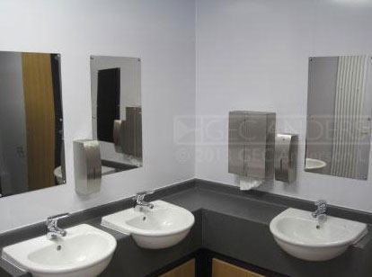 Anti-Vandal Stainless Steel Mirrors