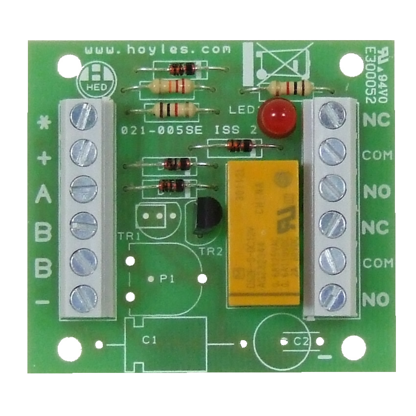 Transistorised double pole relay module