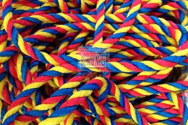 16mm Rope, Soft Multifilament Polypropylene - Multicolour