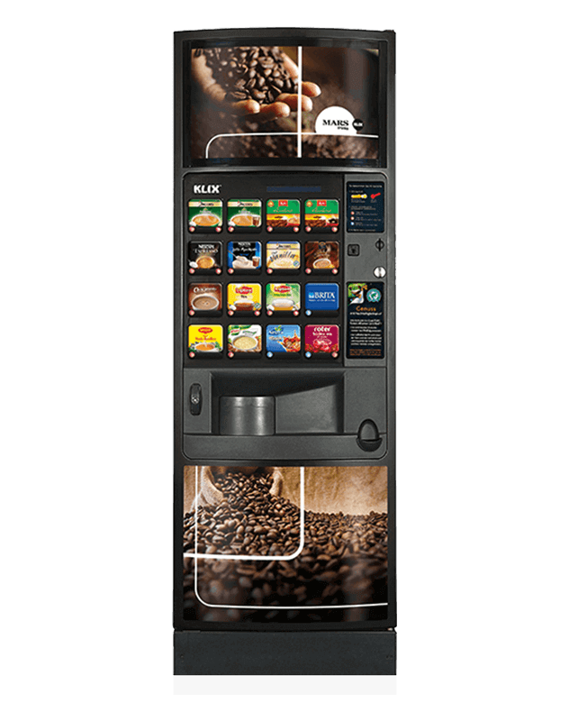 Klix Outlook Vending Machine