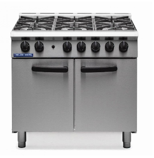 Blue Seal Six Burner Gas Range