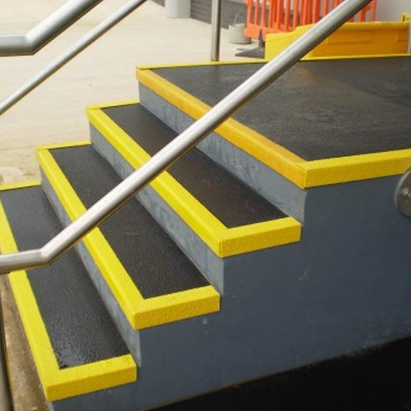 GRP Stair Tread Covers