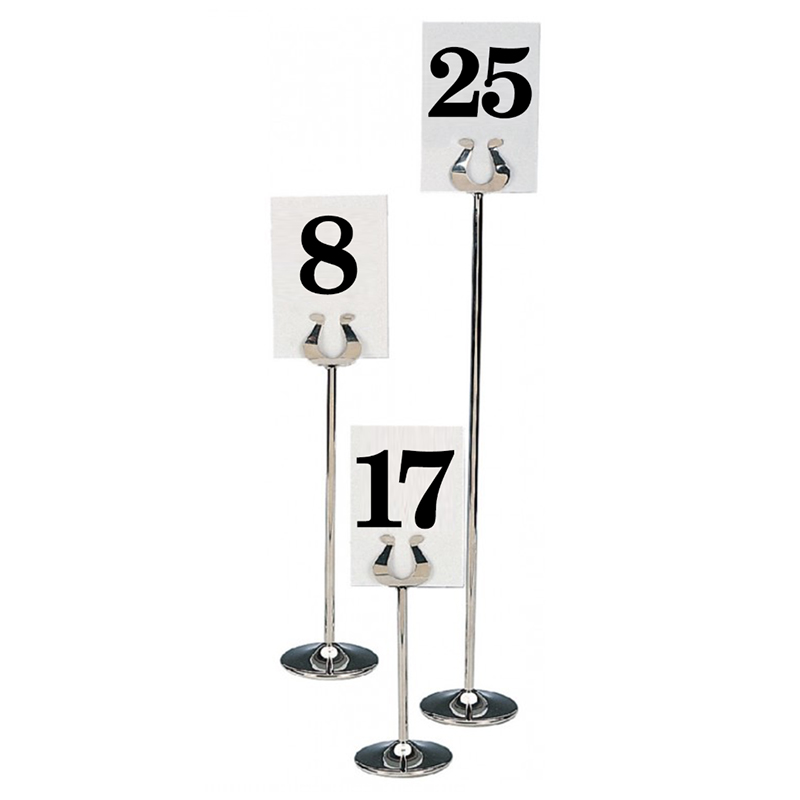 Banquet Table Top Number Sets
