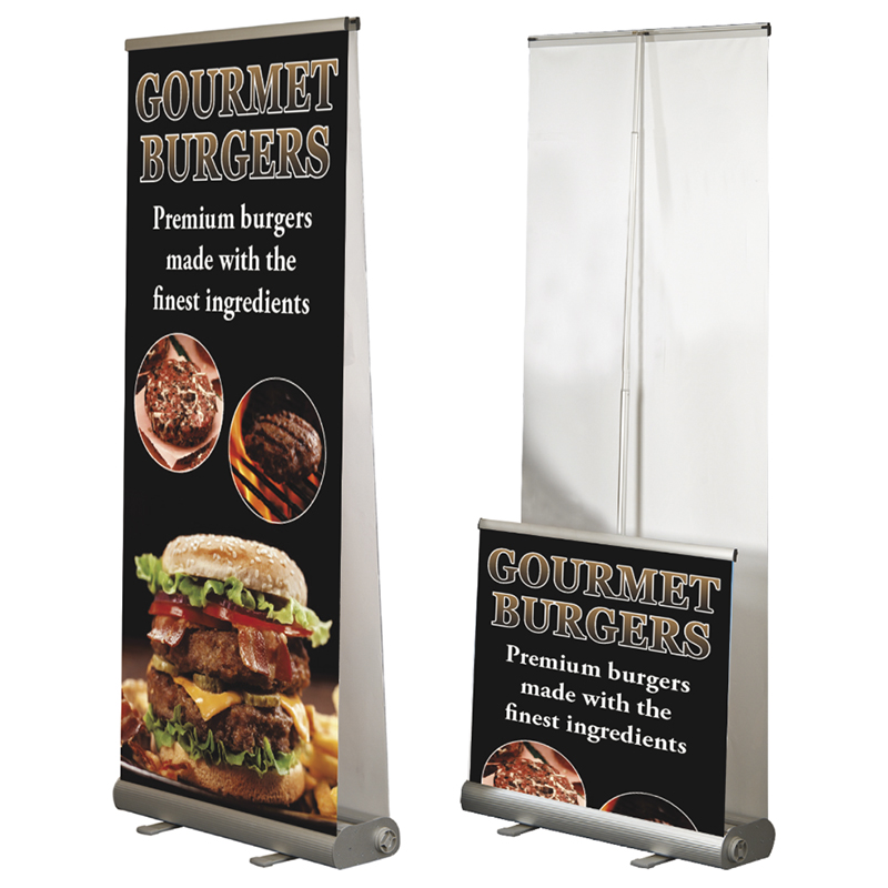 Economy Double Sided Roll Up Banners