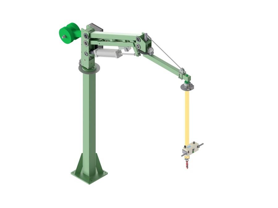 Ergonomic Industrial Manipulator : Industial manipulators and vacuum lifting equipment from