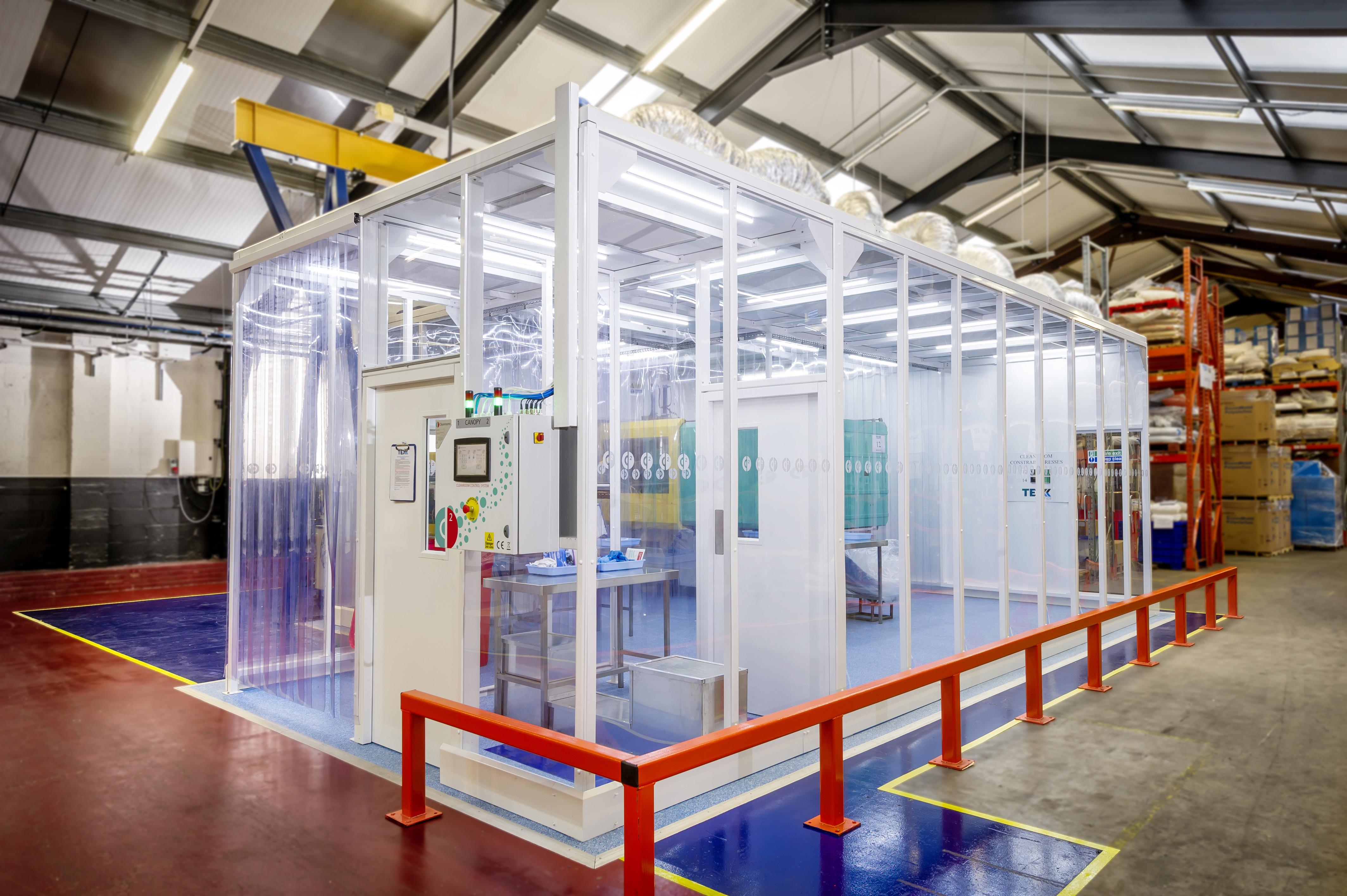 Clean Room: Connect 2 Cleanrooms, Lancaster, Lancashire, LA2 6RH