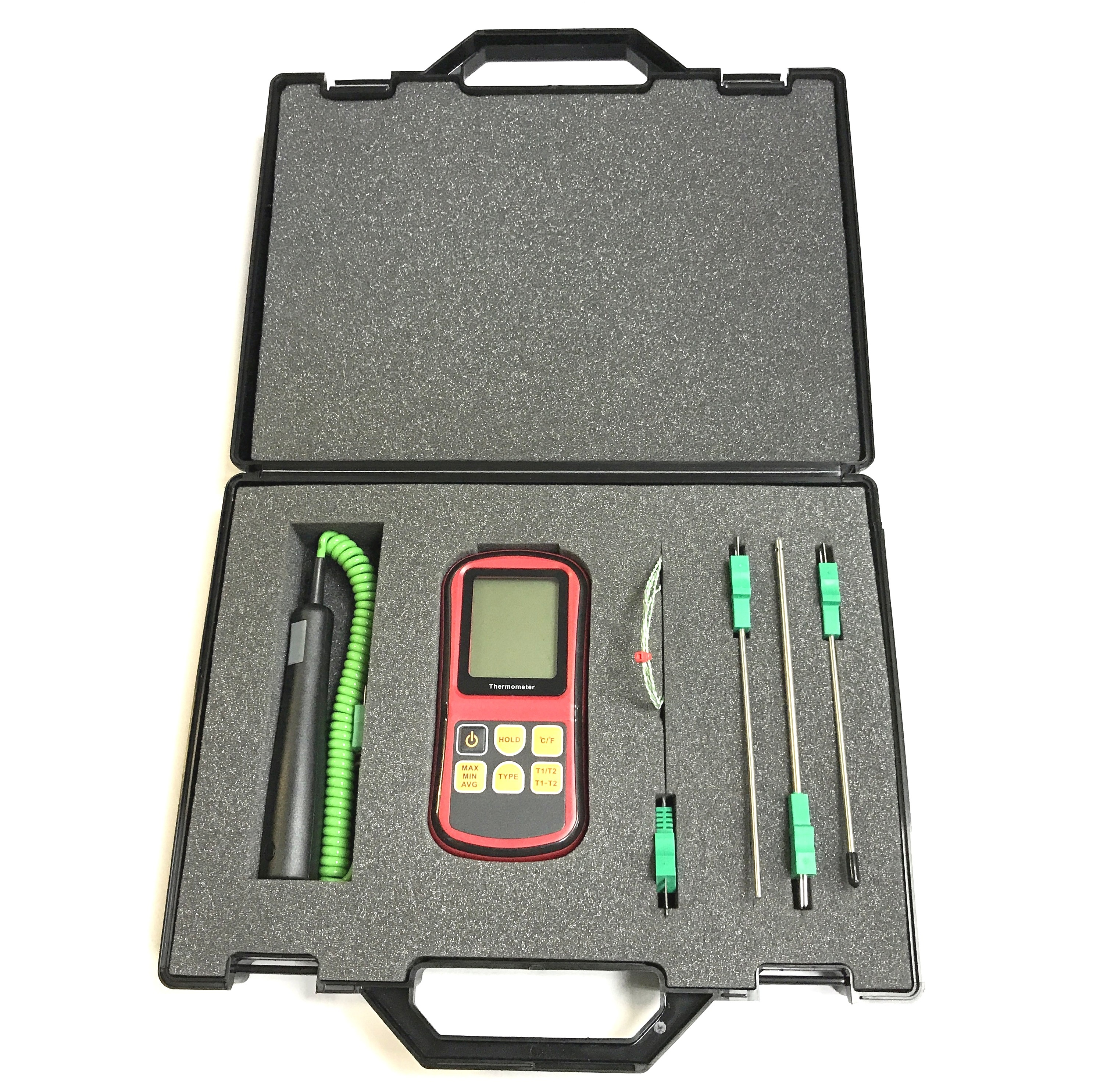 Thermocouple Kits with Meter & Probes Type K IEC