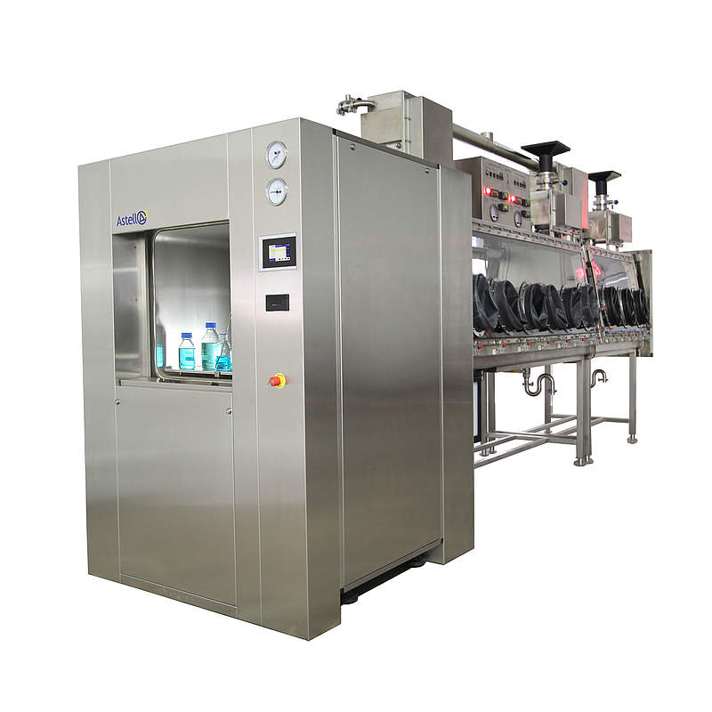 The Astell 250 - 1,200 Litre Double Door SQUARE Autoclave Range