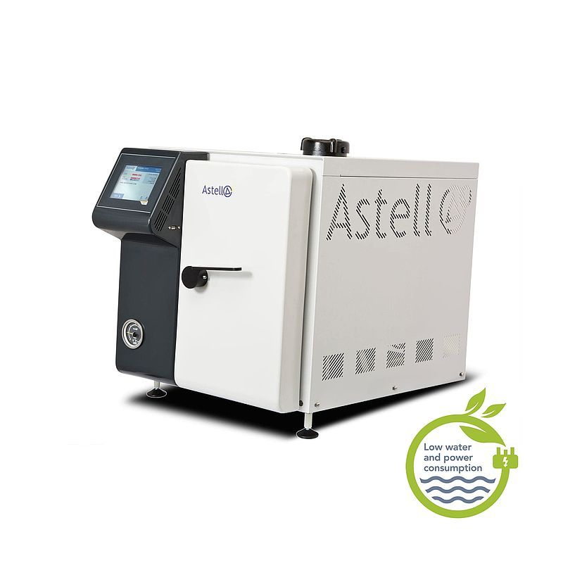 The Astell 33 - 63 Litre Closed Door Drying Autoclave Range