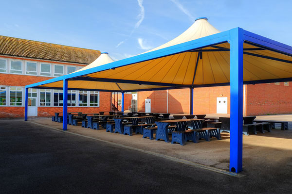 Canopies for Secondary Schools and Academies