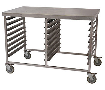 Gastronorm Table Trolley 1250mm