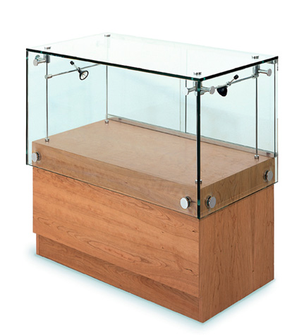 Glass Display Counter Cabinets