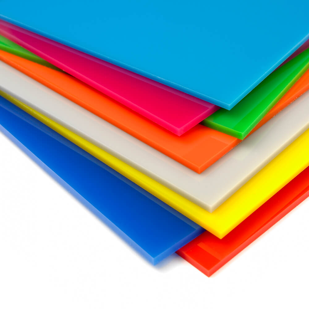 Coloured PERSPEX ® acrylic & acrylic panels