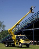 Hire a self drive cherry picker or access platform