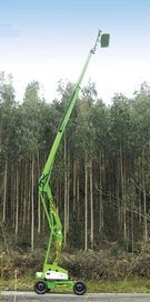 Hire a telescopic or articulated boom lift