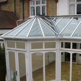 POLYCARBONATE/GLASS ROOFS