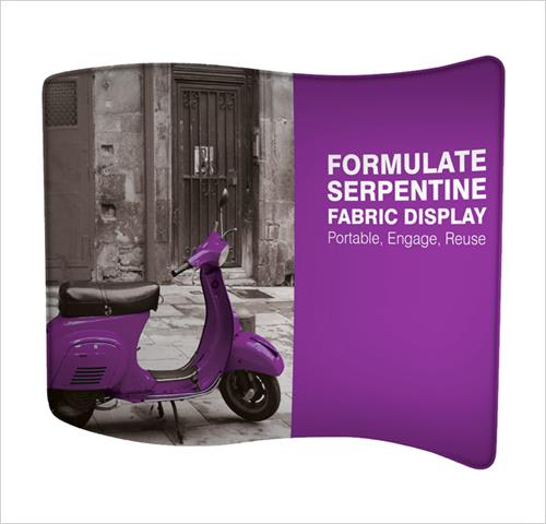 Formulate Fabric Stands