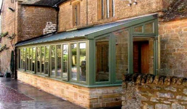 Timber Lean-To Conservatories