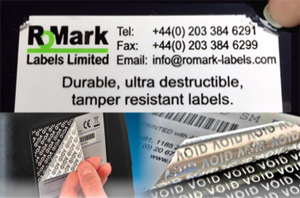Durable high specification security labels