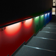 Illumirail ® - LED Light System For Handrail