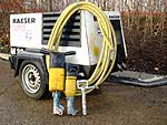 Site and Portable Air Compressor Hire