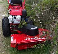 Power Rough Cut Mower with Side Swing
