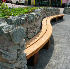 Type 2 Curved Bench