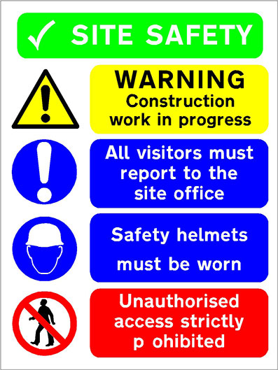 Site and Safety Signs