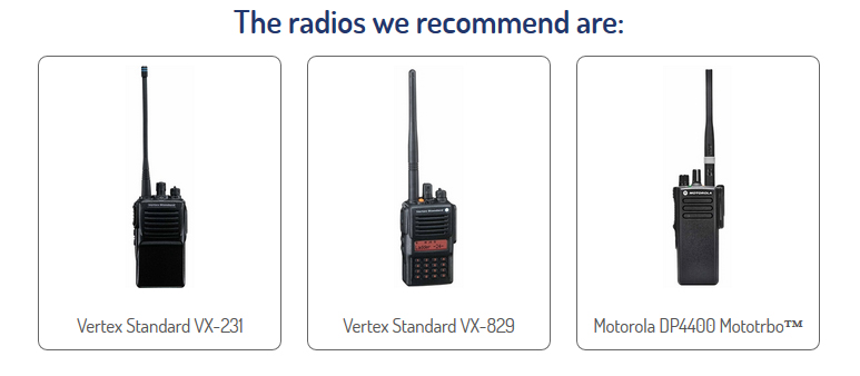 Radio Hire for Construction and Industrial