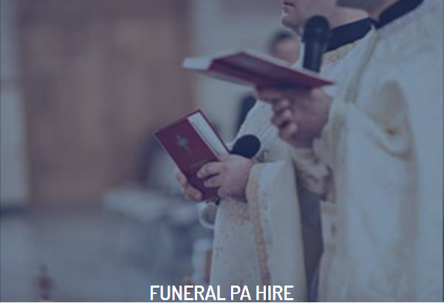 Funeral Sound System Hire