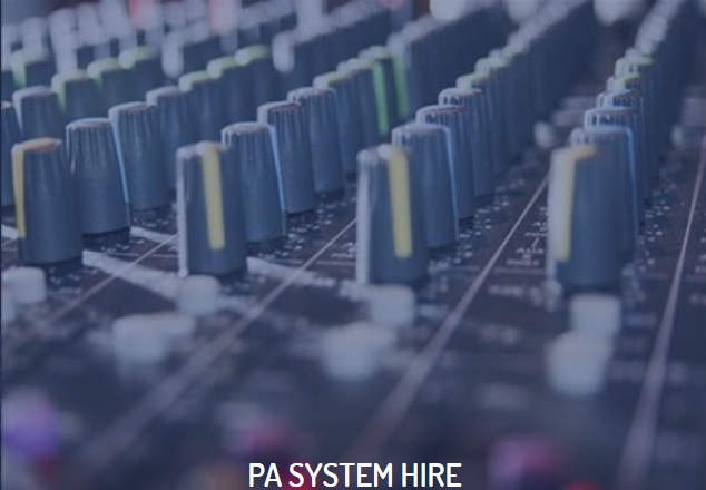 PA System Hire
